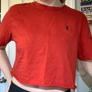 Polo Ralph Lauren Cropped Tee